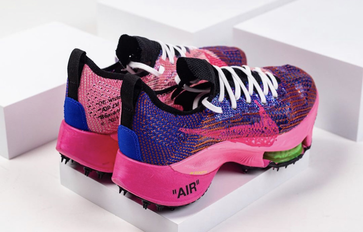 Off-White Nike Air Zoom Tempo NEXT Pink Glow Release Date