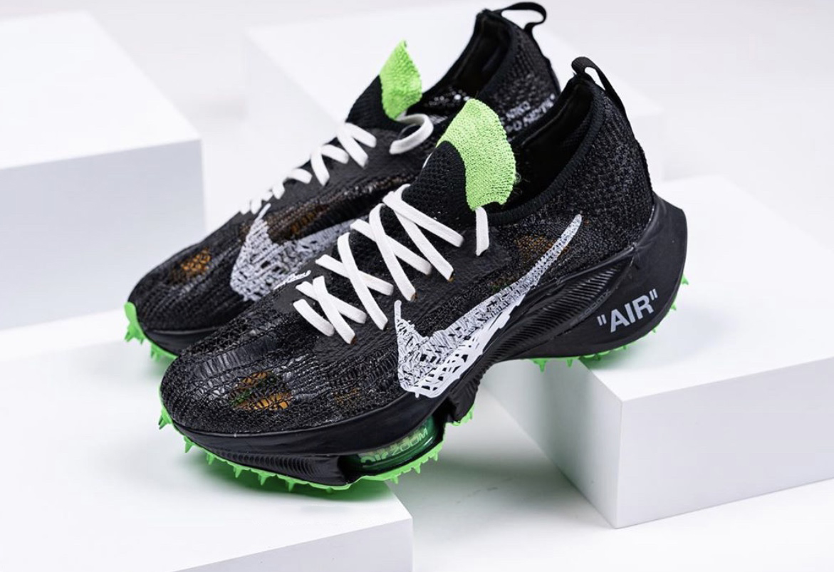 Off-White Nike Air Zoom Tempo NEXT Scream Green Release Date