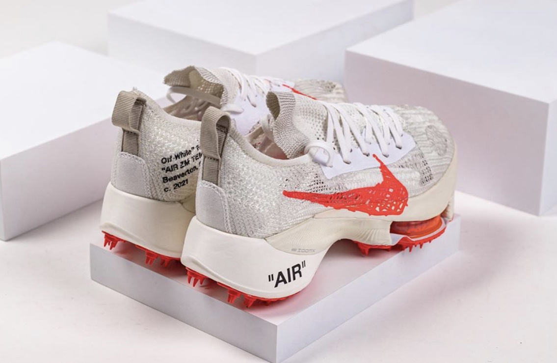 Off-White Nike Air Zoom Tempo NEXT Solar Red Release Date