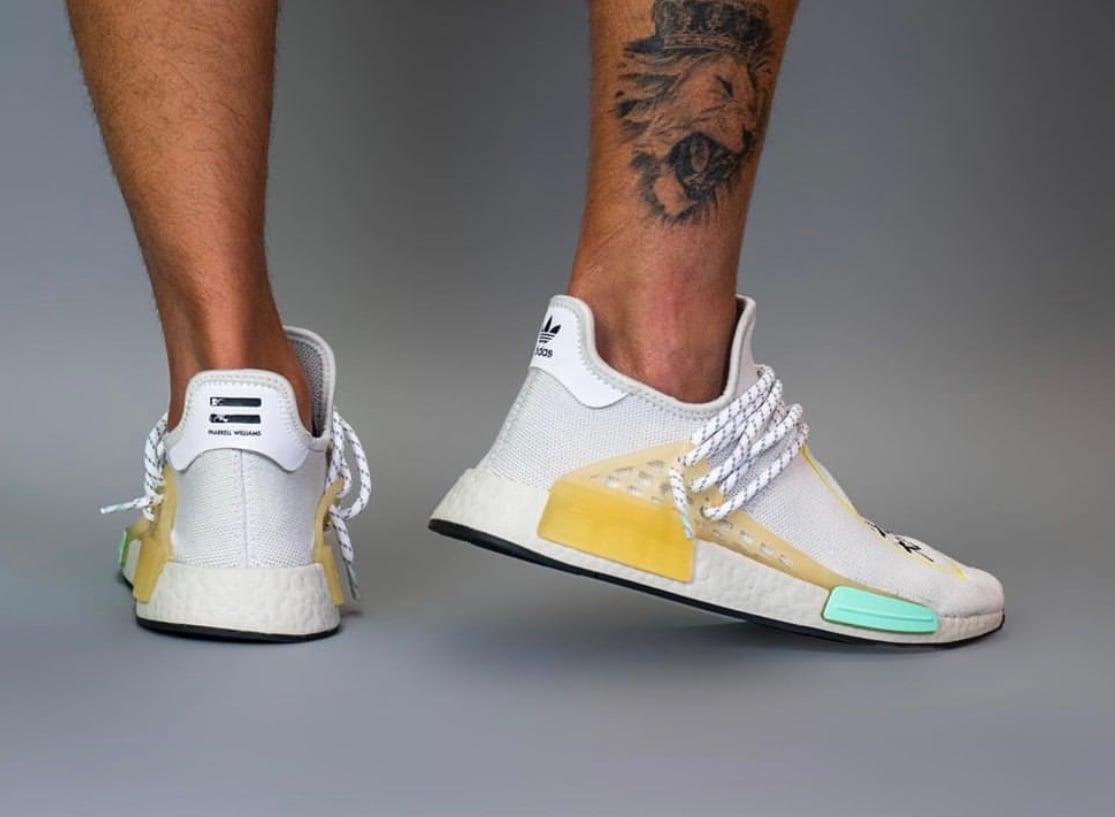 Pharrell adidas NMD Hu Asia Pacific On Feet