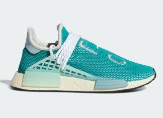 Pharrell adidas NMD Hu Dash Green Q46466 Release Date Info
