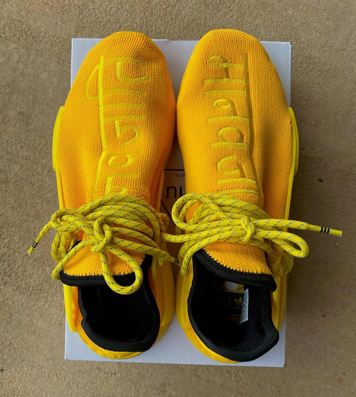 Pharrell adidas NMD Hu Yellow GY0091 Release Info