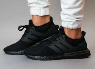 Pharrell Parley adidas Ultra Boost Black Future H01893 Release Date Info