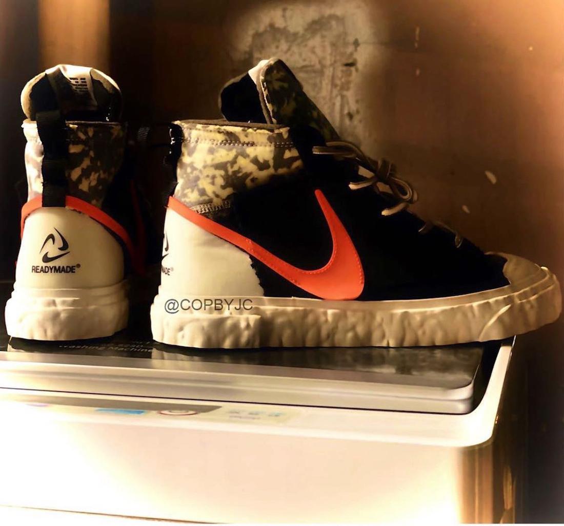 READYMADE Nike Blazer Mid CZ3589-001 Release Date Info