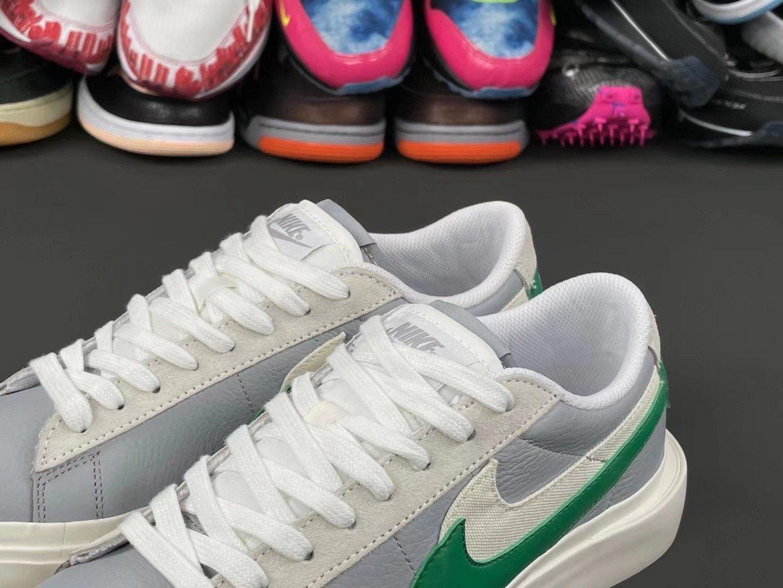 Sacai Nike Blazer Low Classic Green 2021 Release