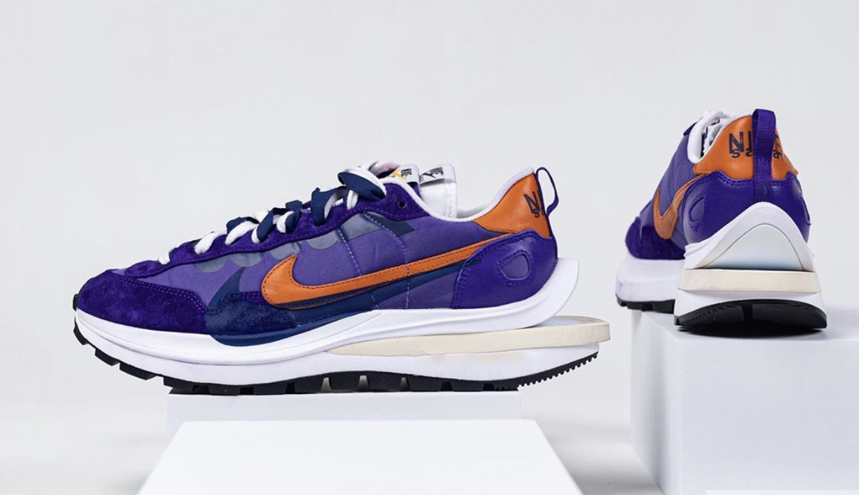 Sacai Nike VaporWaffle Dark Iris Campfire Release Info