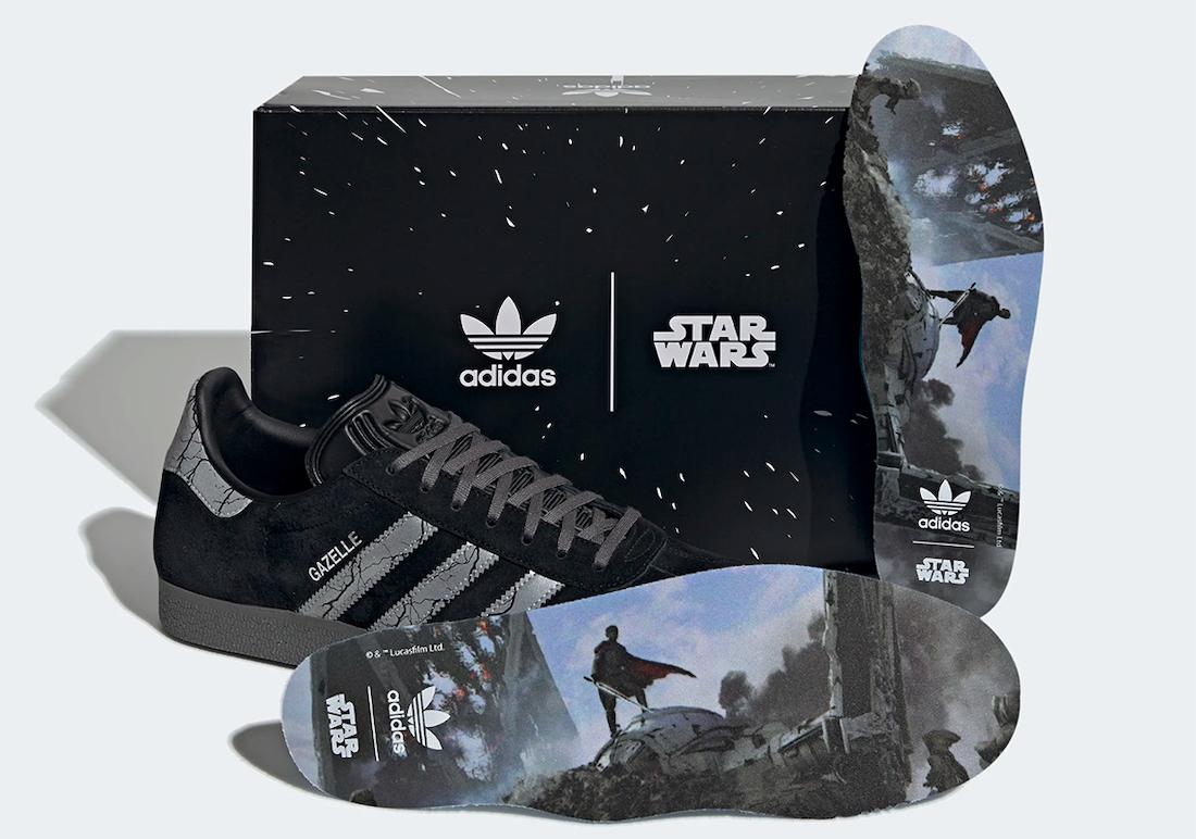 Star Wars adidas Gazelle Darksaber GZ2753 Release Date Info