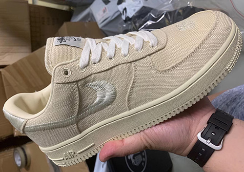Stussy Nike Air Force 1 Low Fossil Stone Release Date