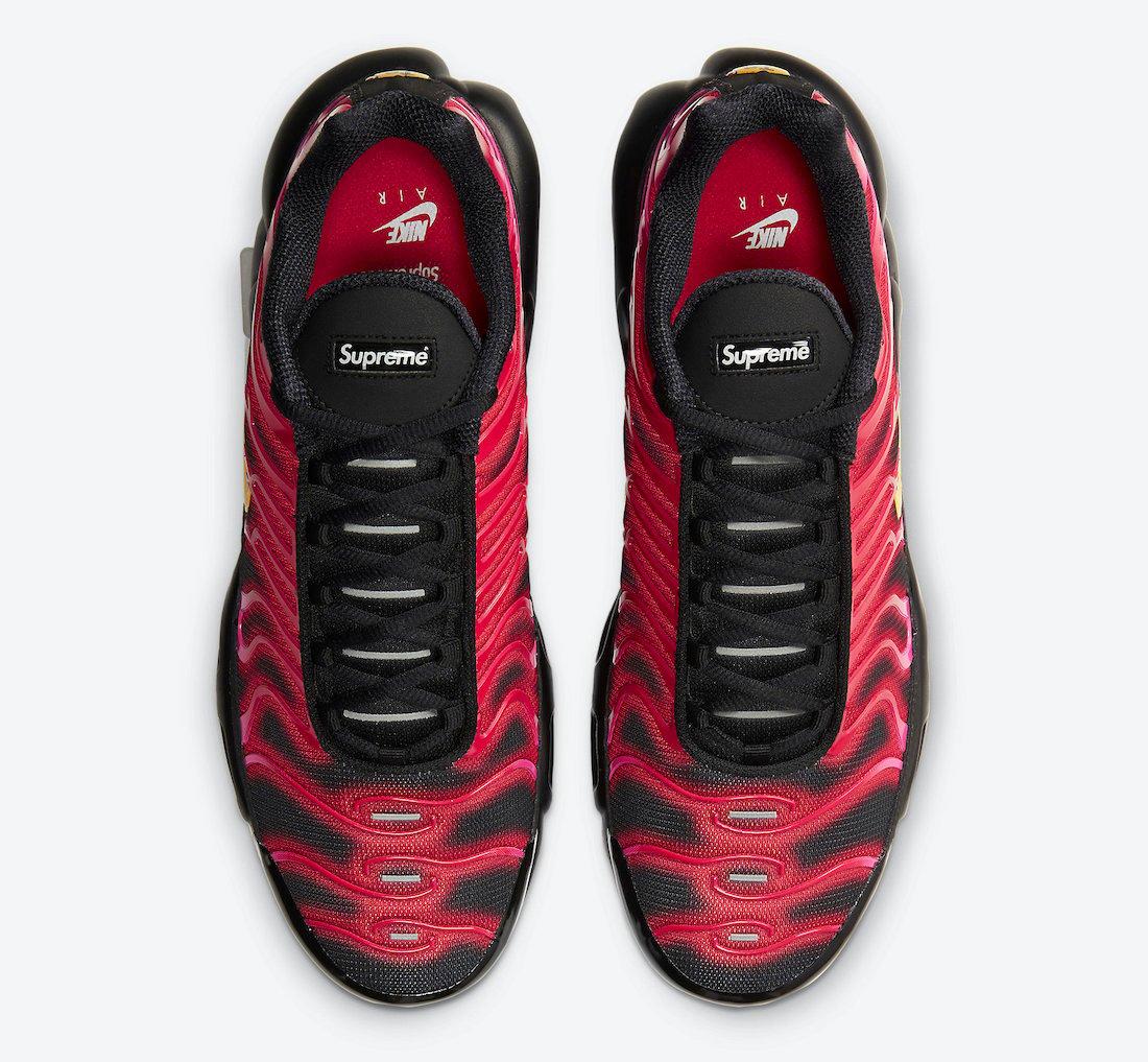 Supreme Nike Air Max Plus Fire Pink DA1472-600 Release Date Info