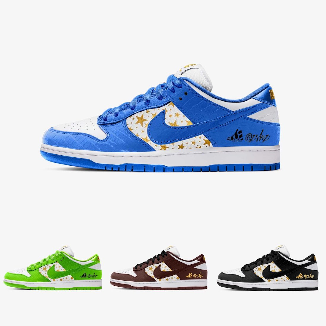 Supreme Nike SB Dunk Low DH3228-100 DH3228-101 DH3228-102 DH3228-103 Release Date