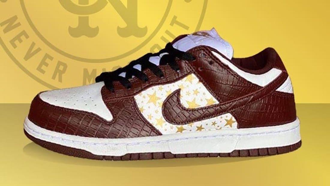 Supreme Nike SB Dunk Low Barkroot Brown DH3228-103