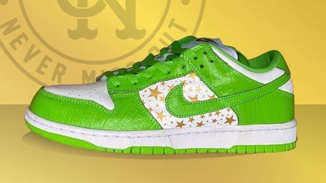 Supreme Nike SB Dunk Low Mean Green DH3228-101