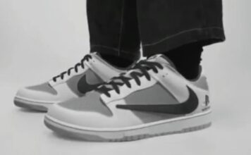 Travis Scott PlayStation Nike Dunk Low Release Date Info