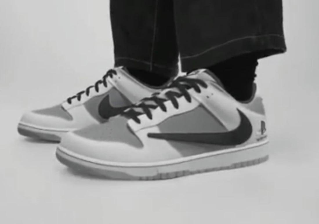Travis Scott PlayStation Nike Dunk Low Release Date Info