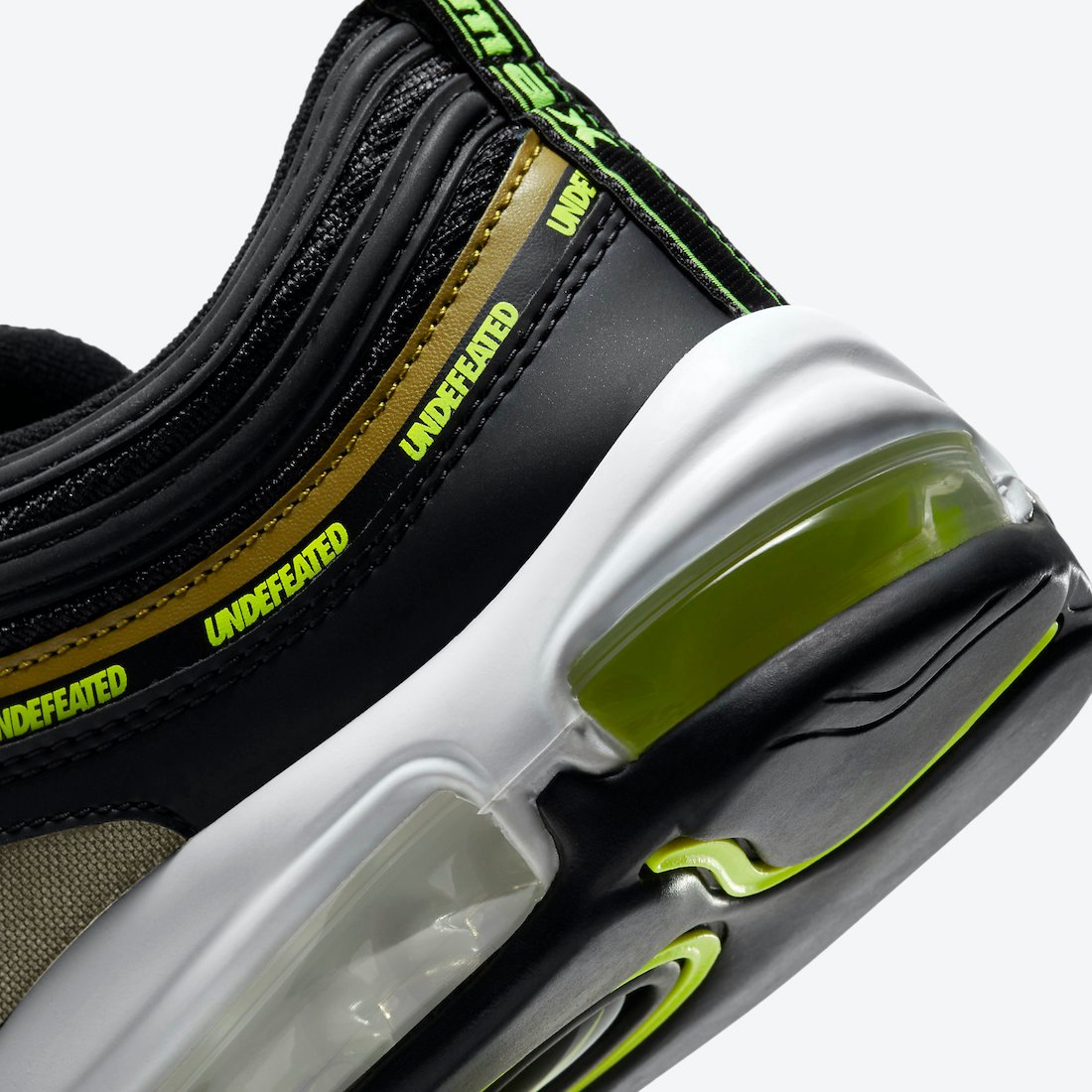 Undefeated Nike Air Max 97 Black Volt DC4830-001 Release Info Price