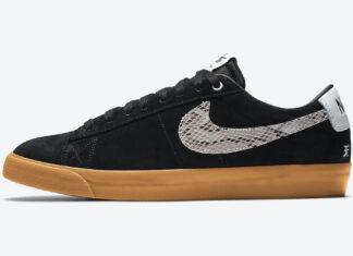 Wacko Maria Nike SB Blazer Low DA7257-001 Release Date Info