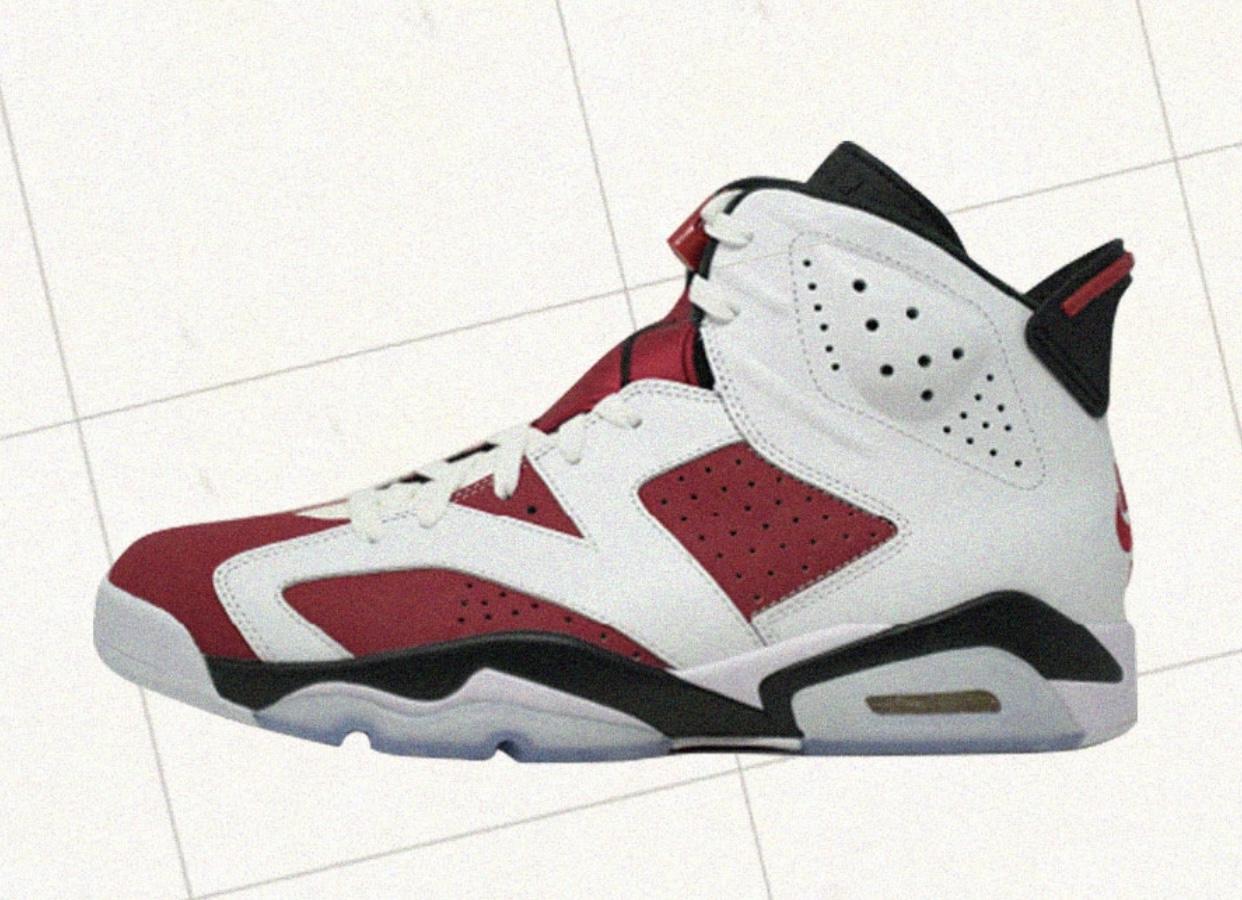 2021 Air Jordan 6 Carmine CT8529-106 Release Date