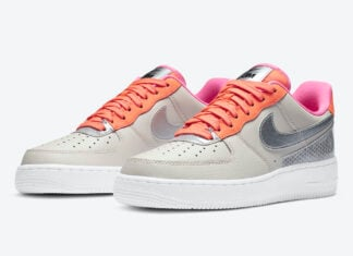 3M Nike Air Force 1 Light Orewood Brown CT1992-101 Release Date Info