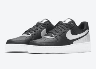 3M Nike Air Force 1 Low Black Reflect CT1992-001 Release Date Info