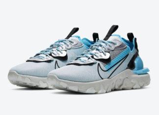 3M Nike React Vision Baltic Blue CU1463-003 Release Date Info