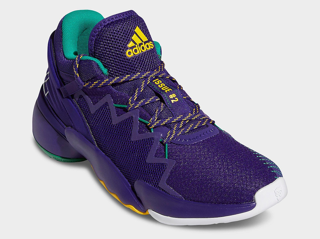 adidas DON Issue 2 Utah Jazz FV8959 Release Date Info