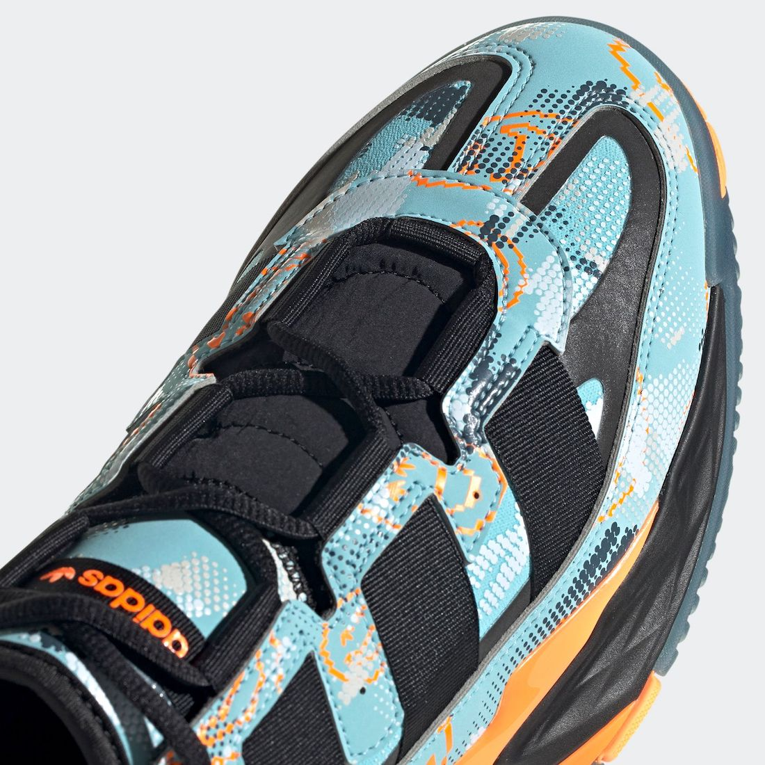 adidas Niteball Light Aqua Signal Orange GZ7867 Release Date Info