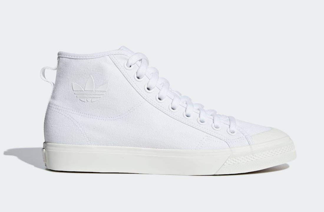 adidas Nizza Hi Cloud White B41643 Release Date Info