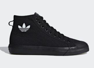 adidas Nizza Hi Core Black B41651 Release Date Info
