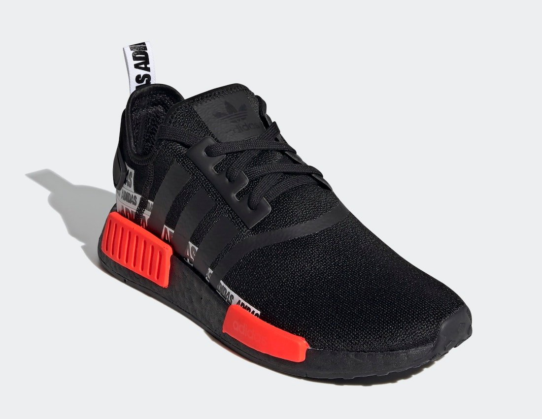 adidas NMD R1 Black Solar Red FX6794 Release Date Info