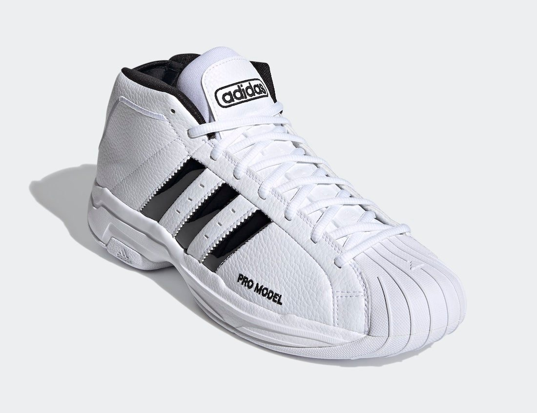 adidas Pro Model 2G Cloud White Core Black FW4344 Release Date Info