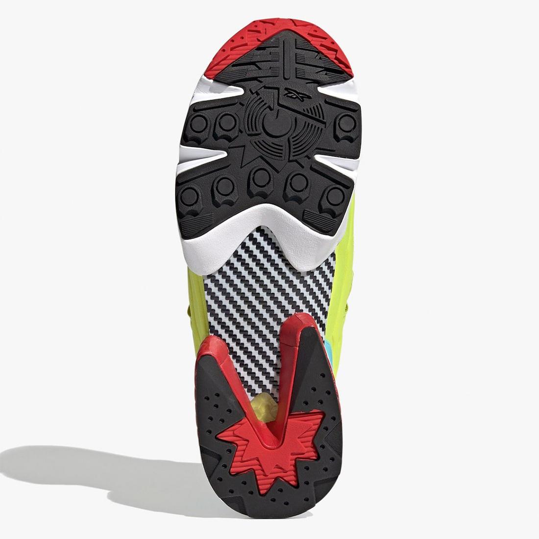 adidas Reebok ZX Fury Black Hypergreen Red FZ1877 Release Date Info
