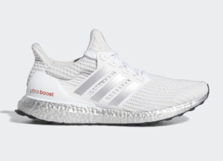 adidas Ultra Boost DNA White Metallic Silver G55461