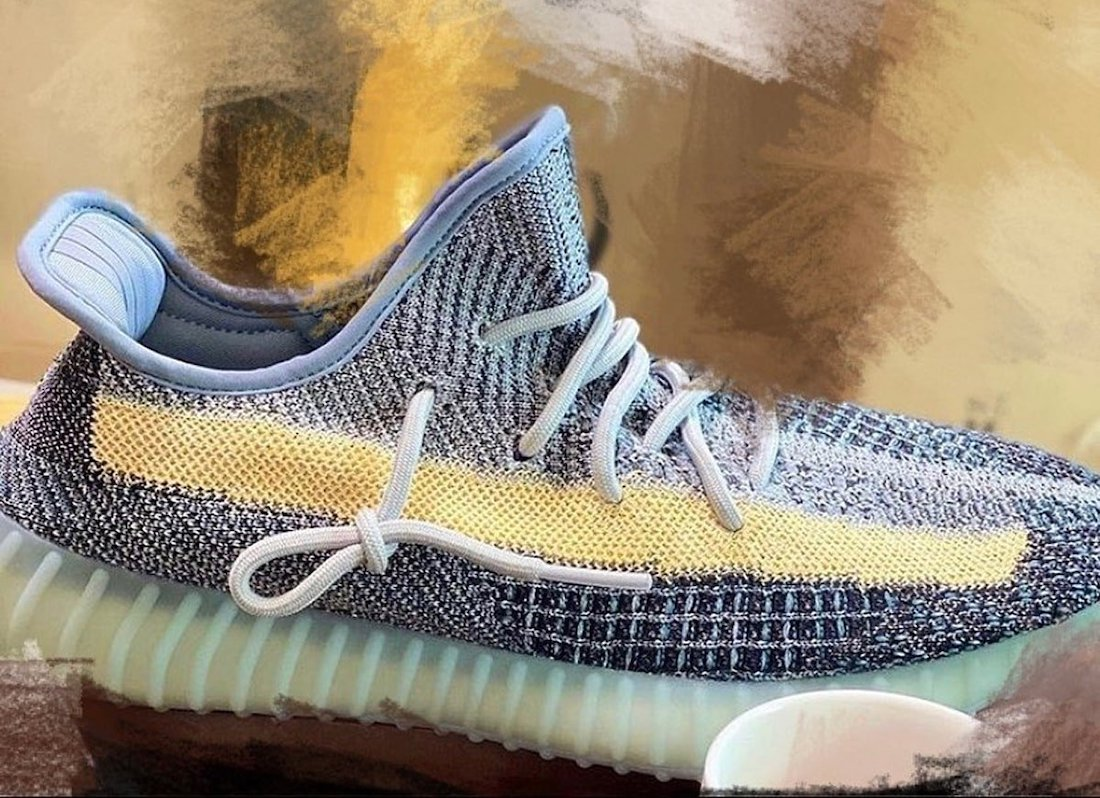 adidas Yeezy Boost 350 V2 Ash Blue 2021 Release Info