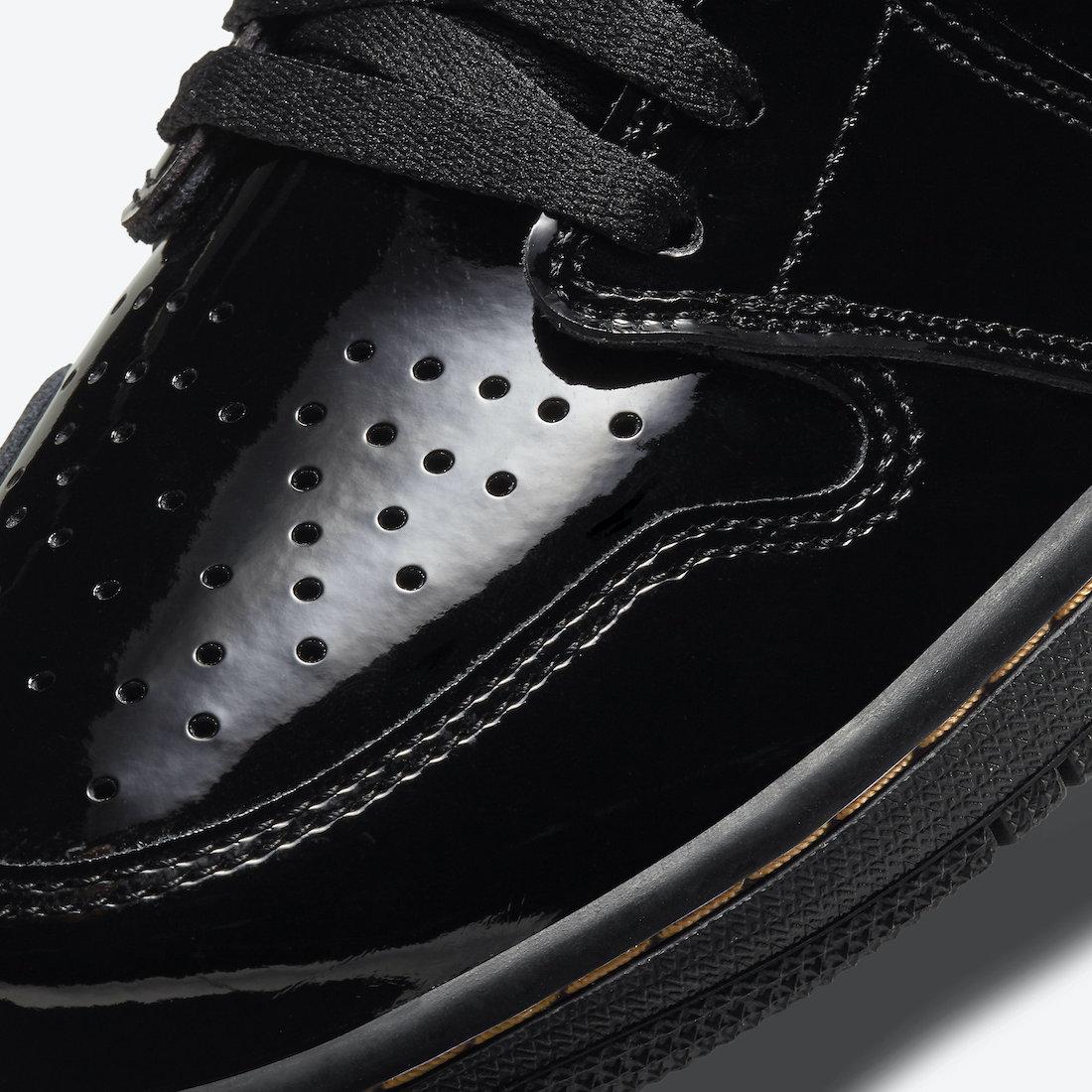 Air Jordan 1 Black Gold 555088-032 Release Price