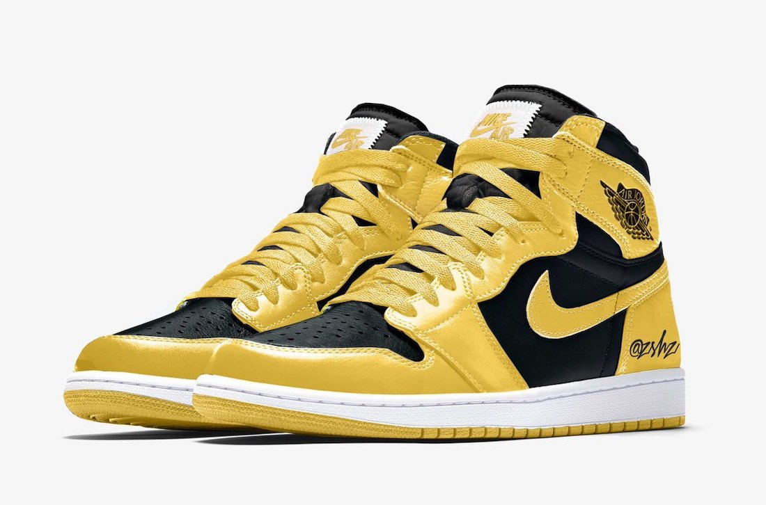 Air Jordan 1 High OG Pollen 555088-701 Mock-Up