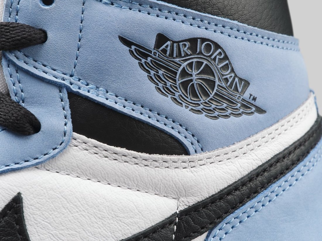 Air Jordan 1 High OG University Blue 555088-134 Release Date Price