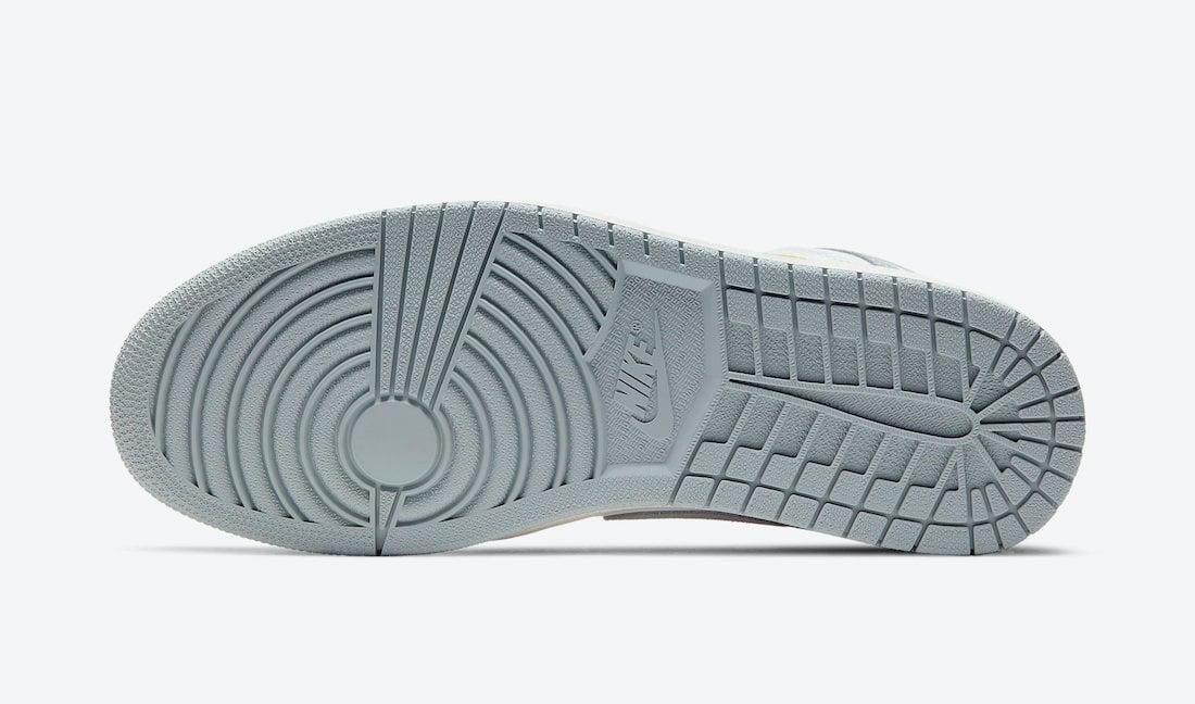 Air Jordan 1 High Switch Light Smoke Grey CW6576-100 Release Date