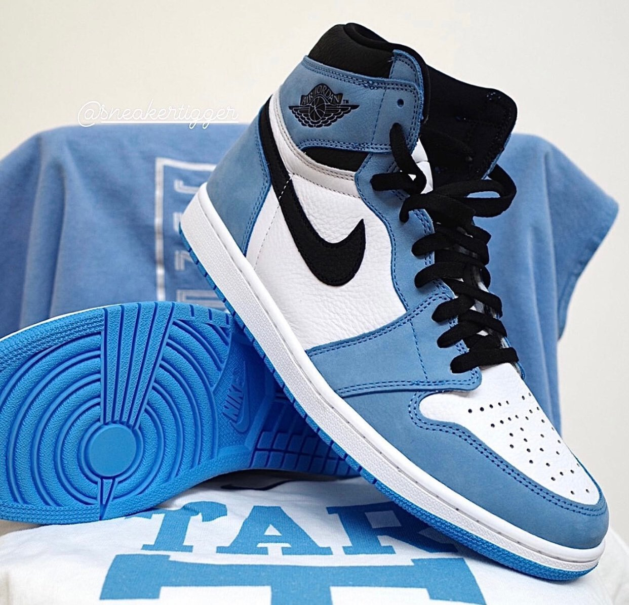 Air Jordan 1 High University Blue 555088-134 Release Date Price