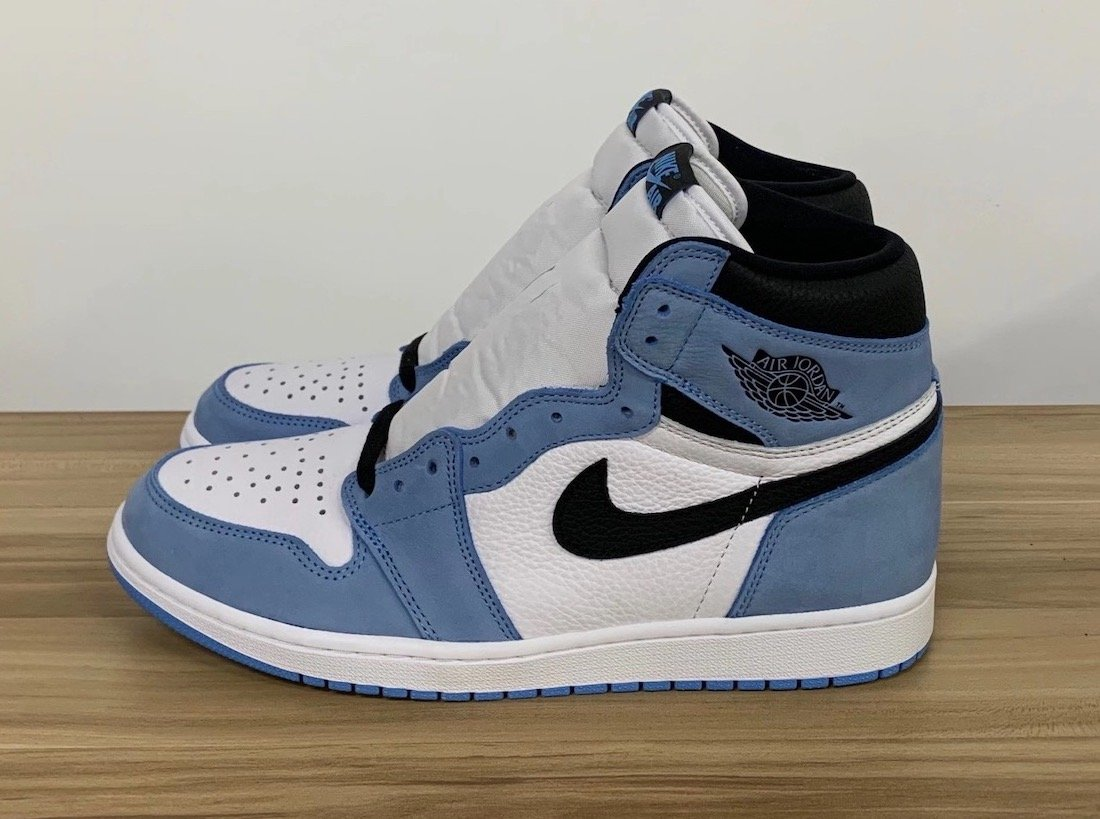 Air Jordan 1 High University Blue 555088-134 Release Info Price