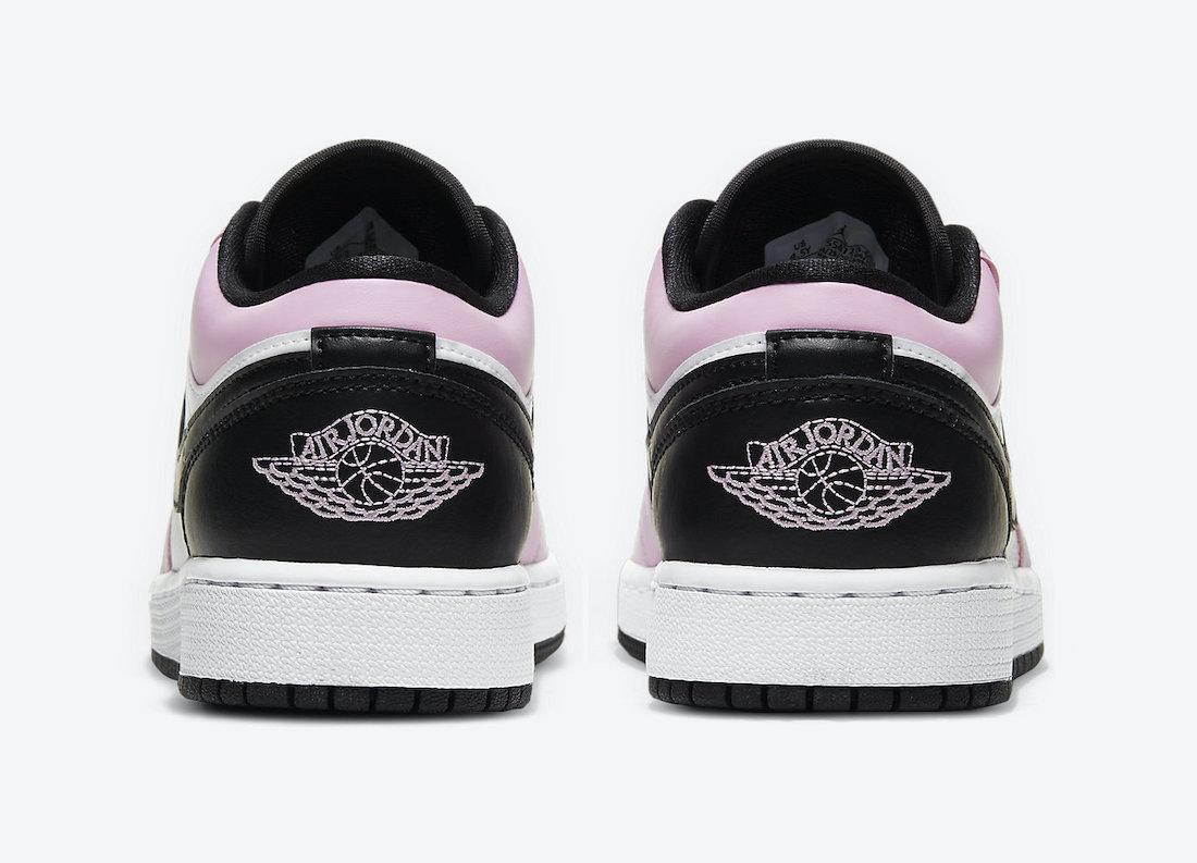 Air Jordan 1 Low GS Light Arctic Pink 554723-601 Release Date Info