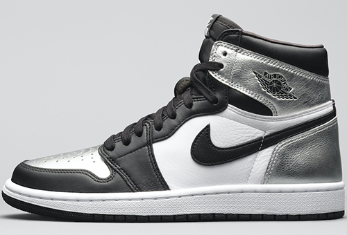 Air Jordan 1 Metallic Silver Toe Womens Release Date