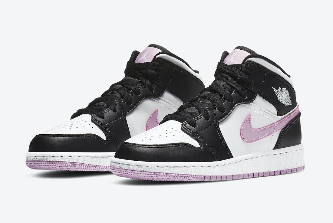 Air Jordan 1 Mid GS Light Arctic Pink 555112-103 Release Date Info