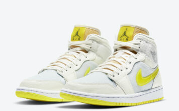 Air Jordan 1 Mid SE Voltage Yellow DB2822-107 Release Date Info