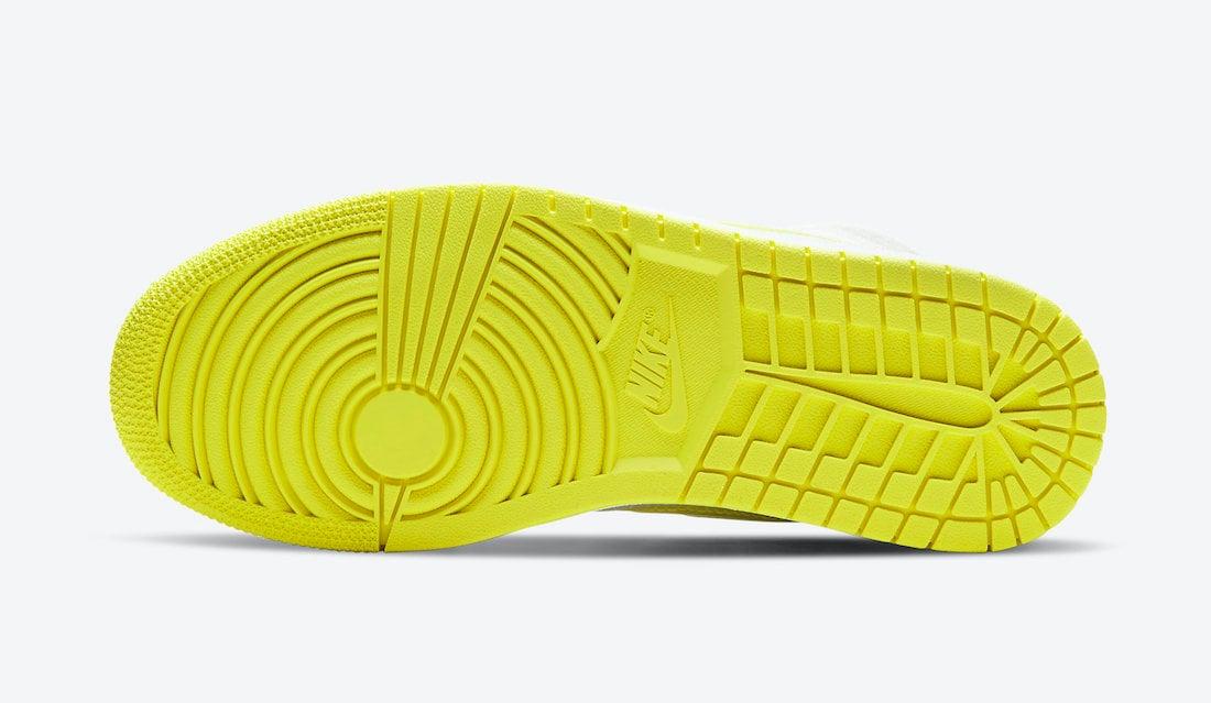 Air Jordan 1 Mid SE Voltage Yellow DB2822-107 Release Date Info