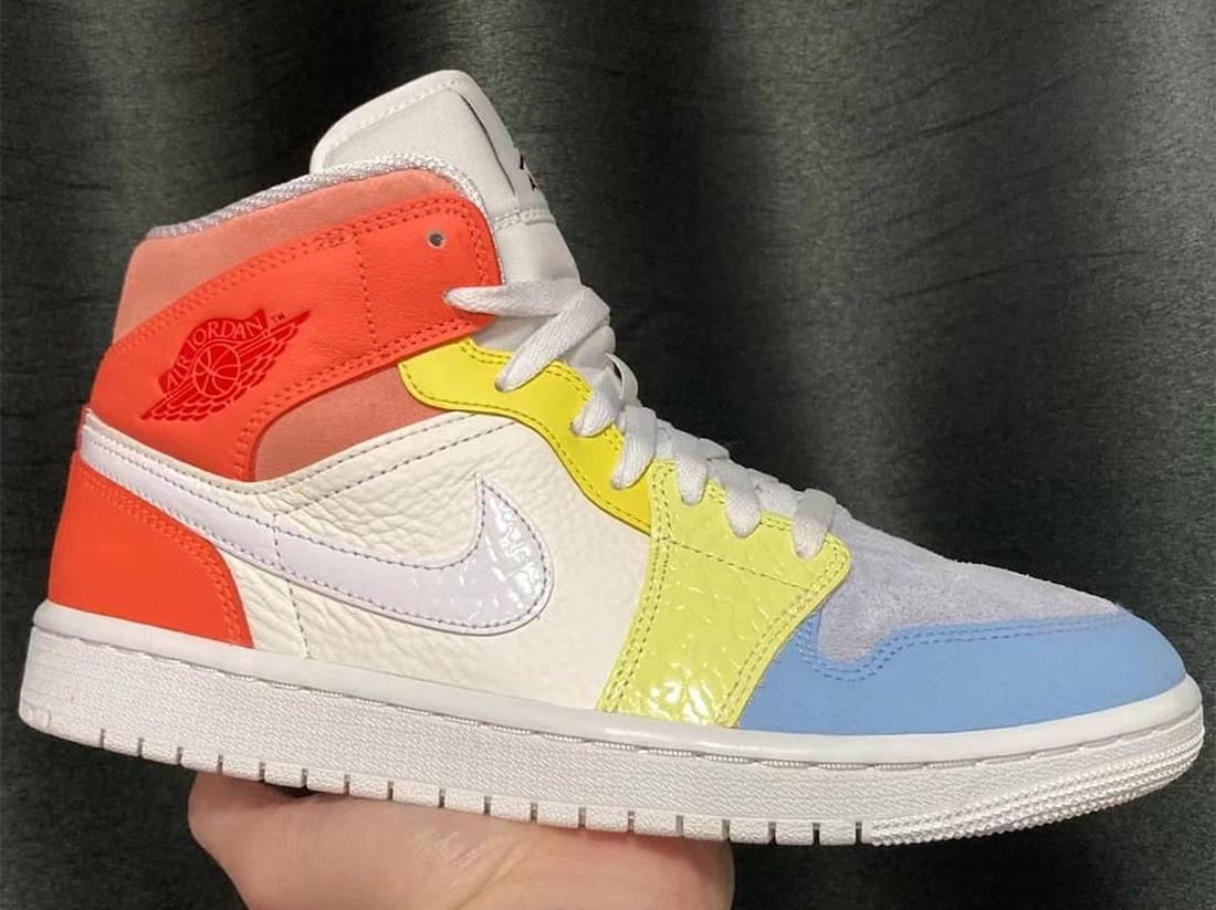 Air Jordan 1 Mid To My First Coach Release Date