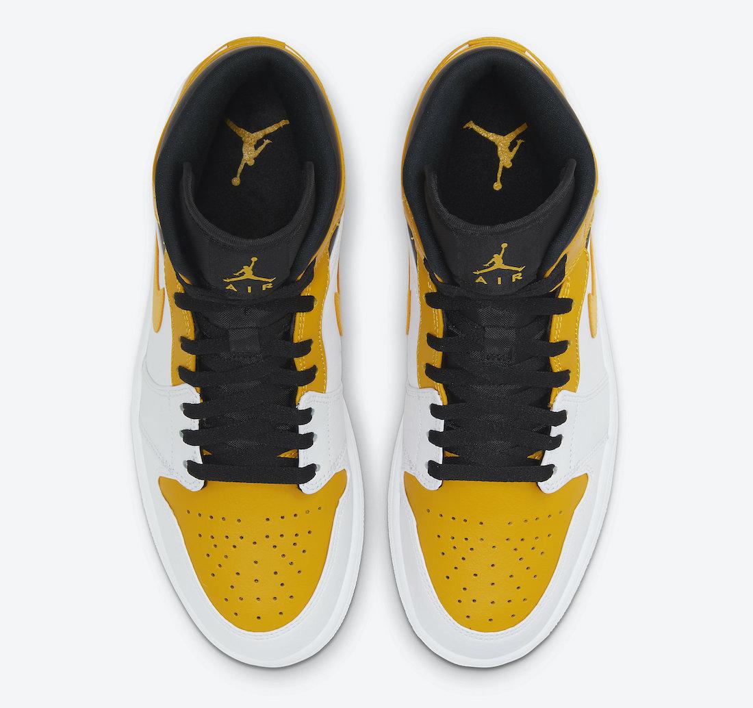 Air Jordan 1 Mid University Gold 554724-170 Release Date Info