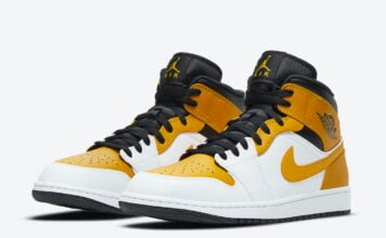 Air Jordan 1 Mid University Gold 554724-170 Release Date Info