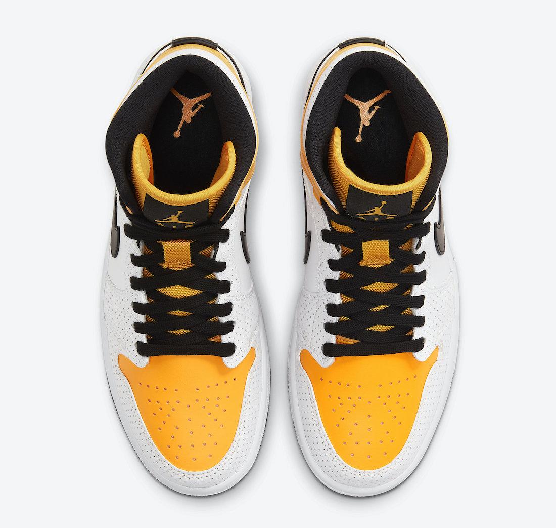 Air Jordan 1 Mid University Gold BQ6472-107 Release Date Info