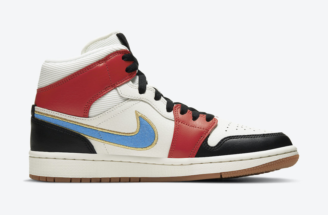 Air Jordan 1 Mid WMNS Homecoming DC1426-100 Release Date Info