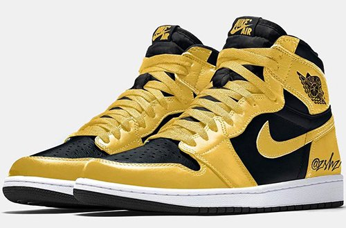 Air Jordan 1 Pollen Black White 2021 Release Date